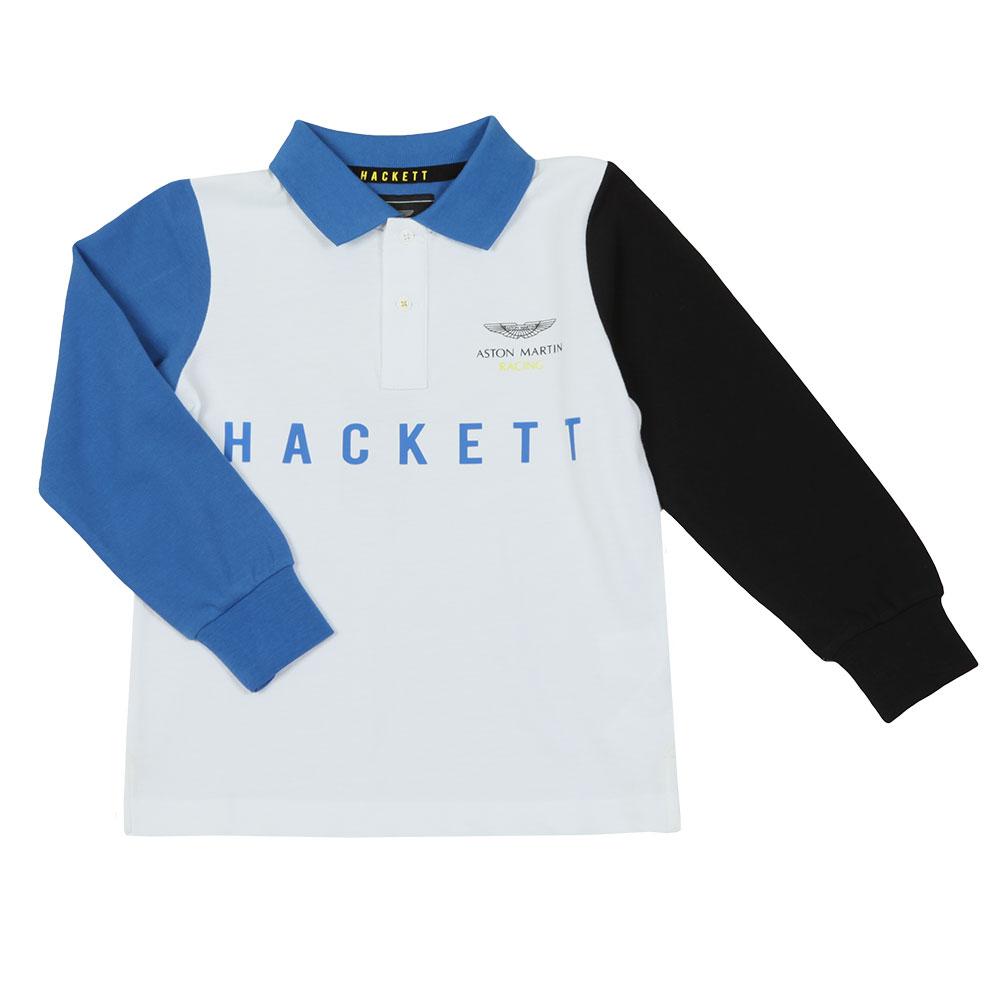 33f3bdc4 Hackett AMR Multi Long Sleeve Polo Shirt | Masdings