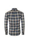 Farah Mens Blue Radley LS Check Shirt