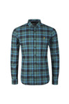 Farah Mens Green Radley LS Check Shirt