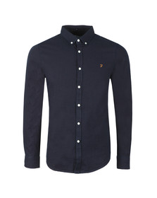Farah Mens Blue Brewer Indigo Shirt