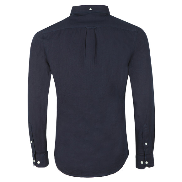 Farah Mens Blue Brewer Indigo Shirt main image