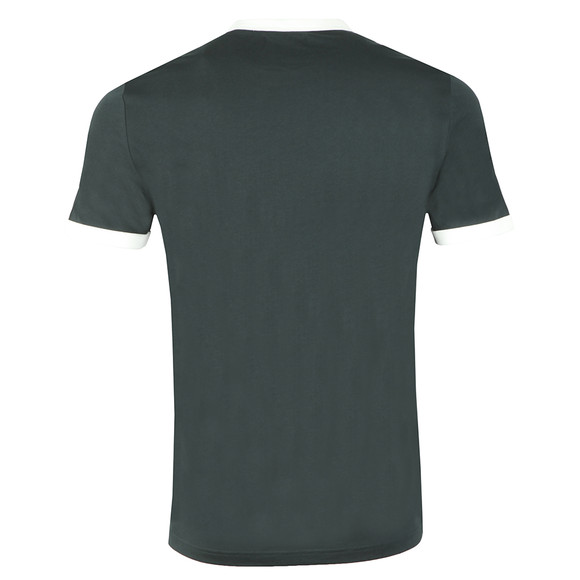 Fred Perry Sportswear Mens Green Ringer T-Shirt main image