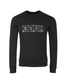 HUGO Mens Black Dicago Sweatshirt