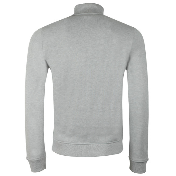 Lacoste Mens Grey SH9257 Full Zip Sweatshirt main image