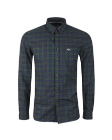 Lacoste Mens Green L/S CH0461 Check Shirt
