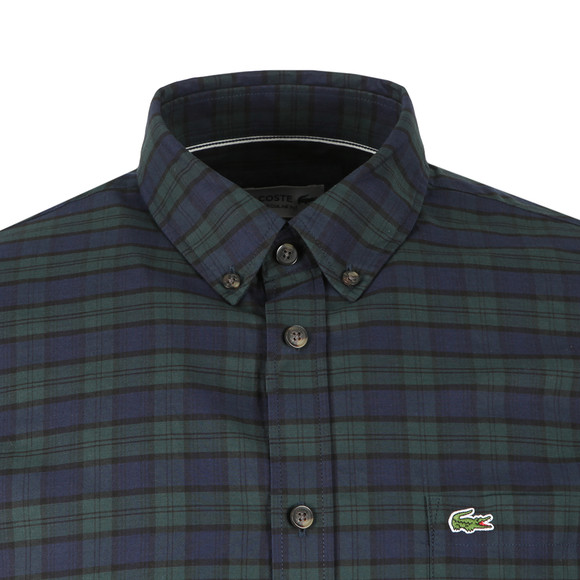 Lacoste Mens Green L/S CH0461 Check Shirt main image