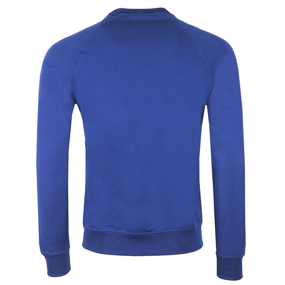 Emporio Armani Mens Blue Embosses Logo Sweatshirt main image