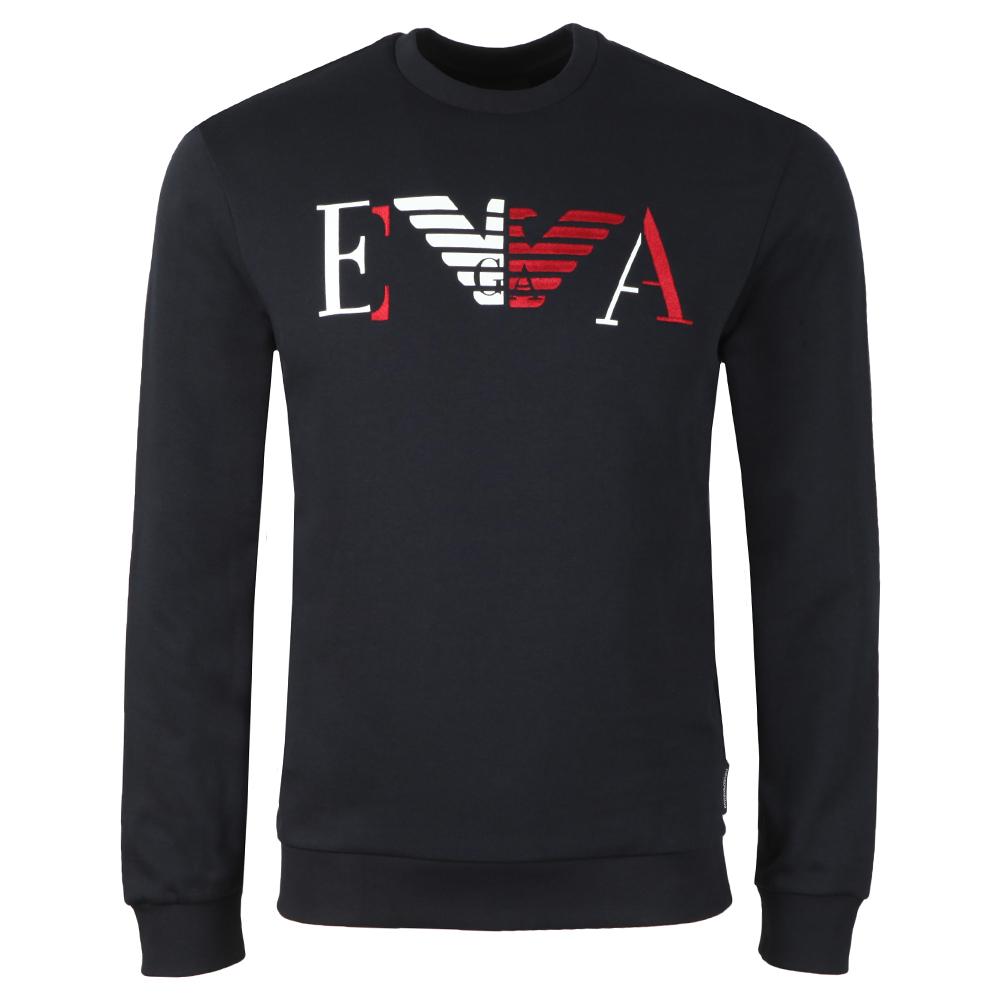 Large Two Tone Eagle Logo Sweatshirt main image