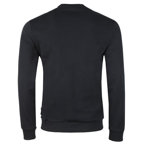 Emporio Armani Mens Blue Large Two Tone Eagle Logo Sweatshirt main image