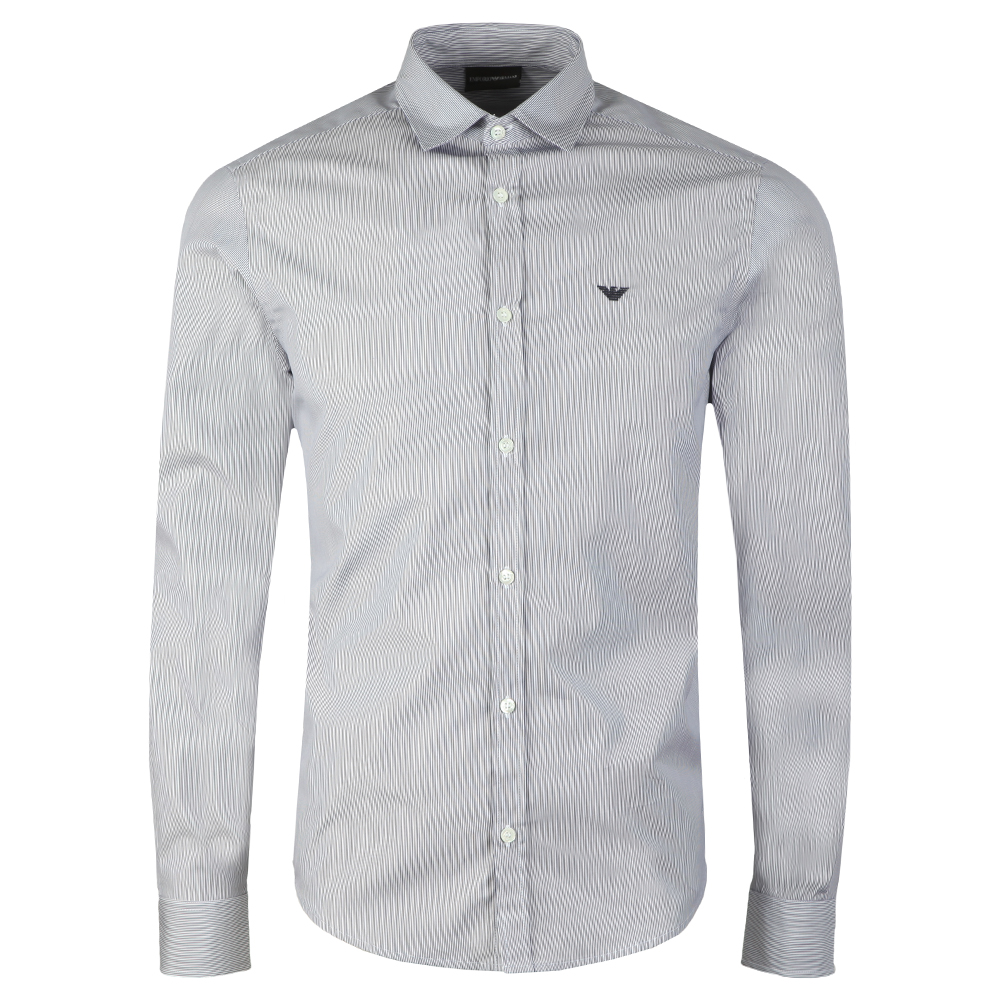 Long Sleeve Stripe Shirt main image
