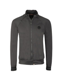 Pretty Green Mens Grey Zip Through Track Top