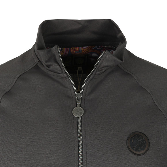 Pretty Green Mens Grey Zip Through Track Top main image