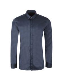 HUGO Mens Blue Etran Shirt