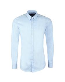 HUGO Mens Blue Keyes Shirt