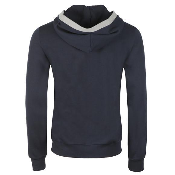 Emporio Armani Mens Blue Loungewear Zip Hoody main image
