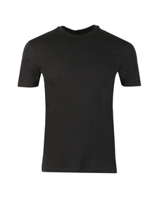 Emporio Armani Mens Black Eagle Side Taping T-Shirt