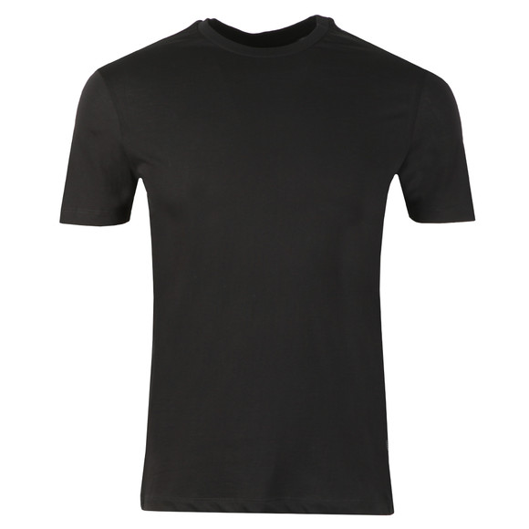 Emporio Armani Mens Black Eagle Side Taping T Shirt main image