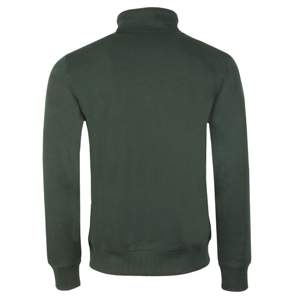 Carhartt WIP Mens Green Chase Half Zip Sweatshirt main image