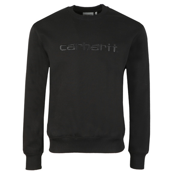Carhartt WIP Mens Black Carhartt Sweat main image