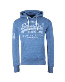 Superdry Mens Blue Premium Goods Hoodie