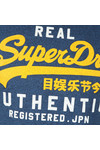 Superdry Mens Blue Authentic Duo Tee
