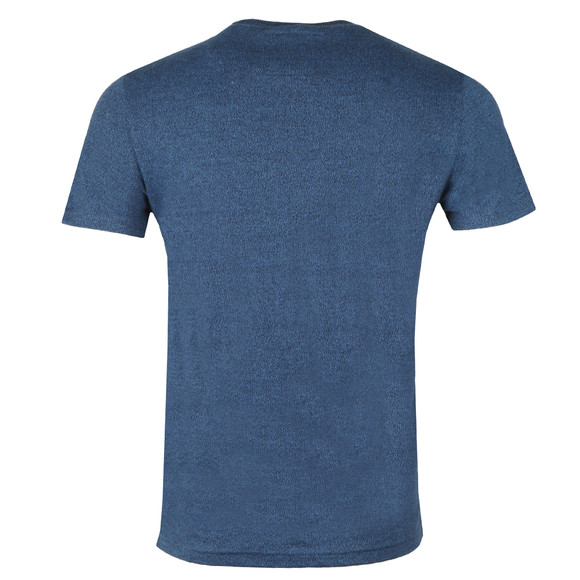 Superdry Mens Blue Authentic Duo Tee main image