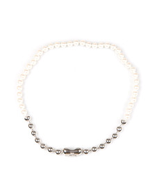 Vivienne Westwood Womens Silver Olga Necklace