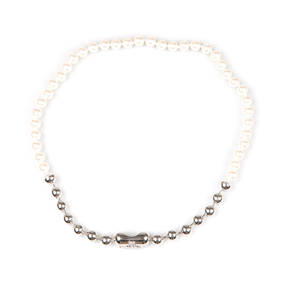 Vivienne Westwood Womens Silver Olga Necklace main image