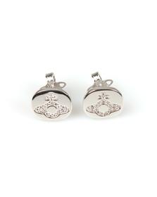 Vivienne Westwood Womens Silver Milano Stud Earring