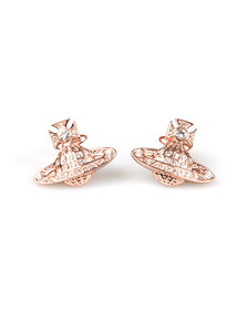 Vivienne Westwood Womens Bronze Minnie  Bas Relief Earring