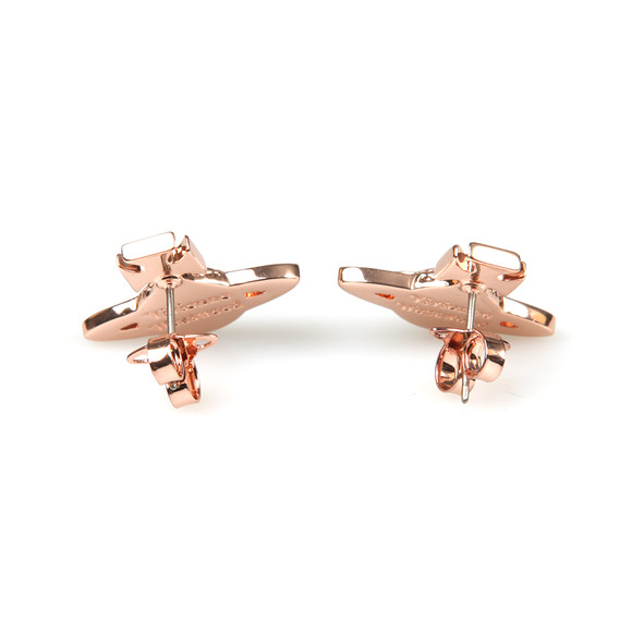 Vivienne Westwood Womens Bronze Minnie  Bas Relief Earring main image