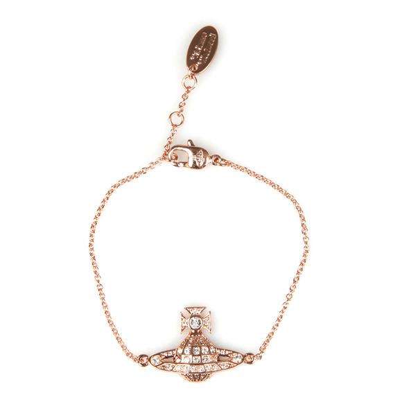 Vivienne Westwood Womens Bronze Minnie Bas Relief Bracelet main image