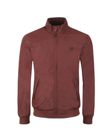 Fred Perry Mens Red Brentham Jacket