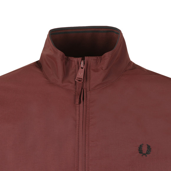 Fred Perry Mens Red Brentham Jacket main image