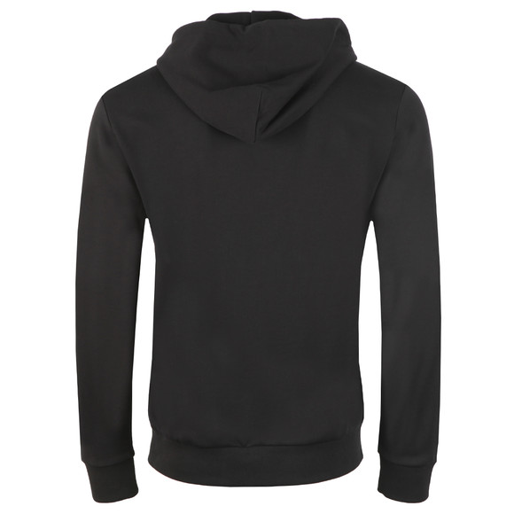 Love Moschino Mens Black Logo Core Hoody main image