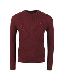 Farah Mens Red Garway Jumper