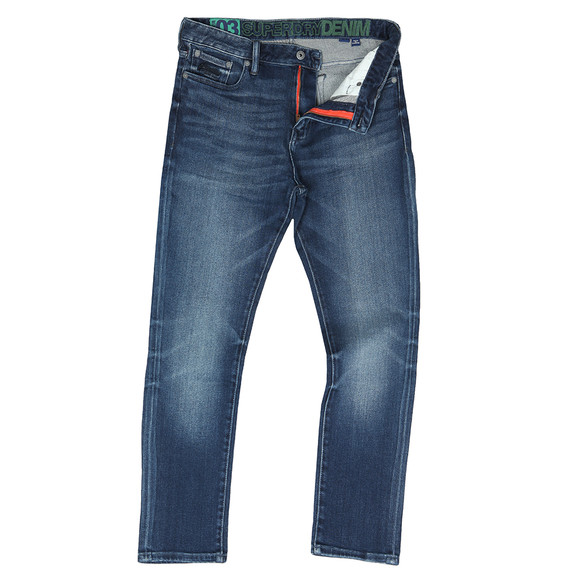 Superdry Mens Blue Slim Tyler Jean main image