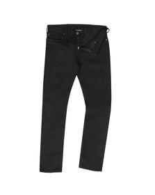 Emporio Armani Mens Black J06 Slim Jean