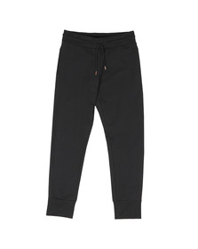 Love Moschino Mens Black Plaque Logo Jogger