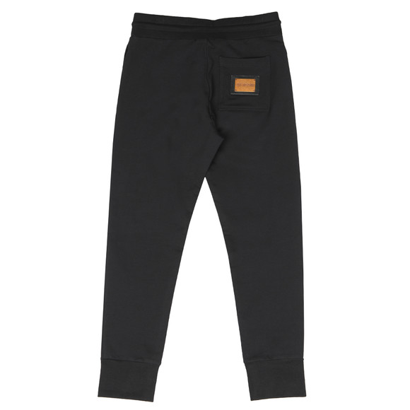 Love Moschino Mens Black Plaque Logo Jogger main image
