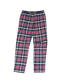 Emporio Armani Mens Blue Check Pyjama Trouser