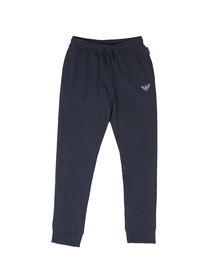 Emporio Armani Mens Blue Loungewear Sweatpant