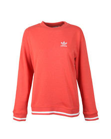 Adidas Originals Womens Orange AI Sweatshirt