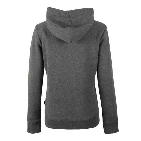 Superdry Womens Grey Premium Sequin Entry Hoody main image
