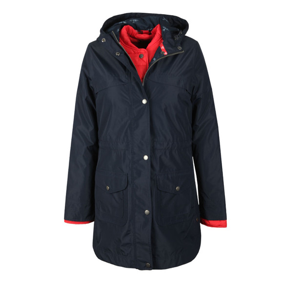 Barbour Lifestyle Womens Blue Clovelly Jacket