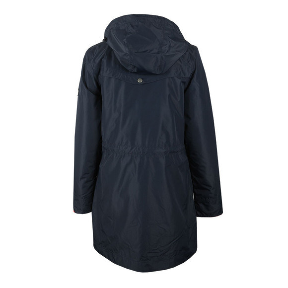 Barbour Lifestyle Womens Blue Clovelly Jacket main image