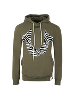Zebra Print Horseshoe Hoody
