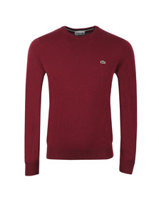 Lacoste Mens Purple AH0841 Wool Jumper
