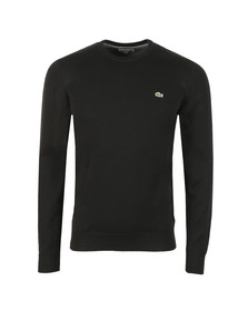 Lacoste Mens Black AH3467 Jumper