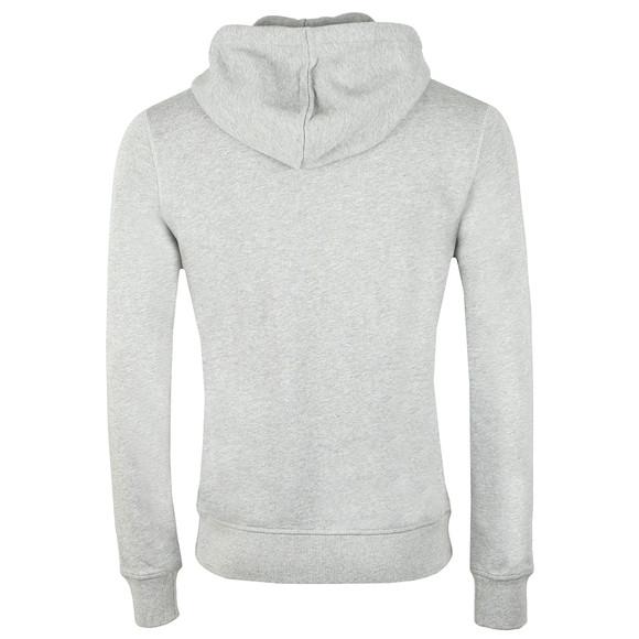 BOSS Casualwear Mens Grey Znacks Full Zip Hoody main image